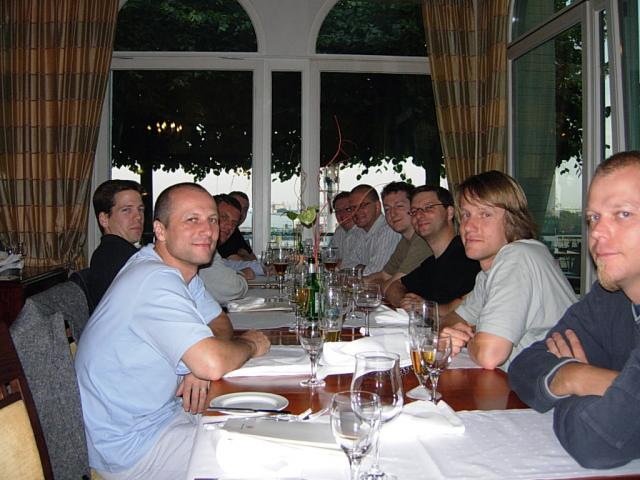 Hamburg FDD Workshop Class Dinner