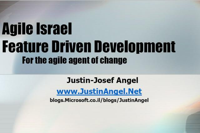 Feature Driven Development Presentation